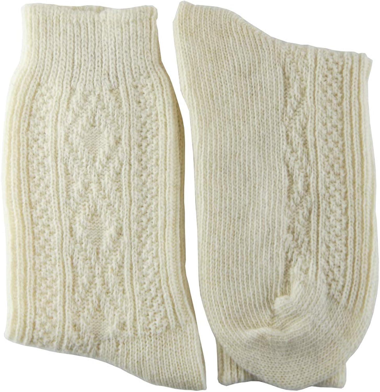 YUN Women's Natural Pure 100% Wool Traditional Warm Boot Winter Socks