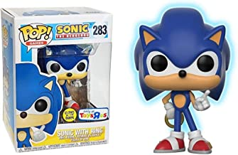 Funko POP! Sonic the Hedgehog with Ring Glow In The Dark