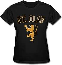 LENOJE M'Erica St. Olaf College Logo Women's Cotton Adult Tshirts O-Neck