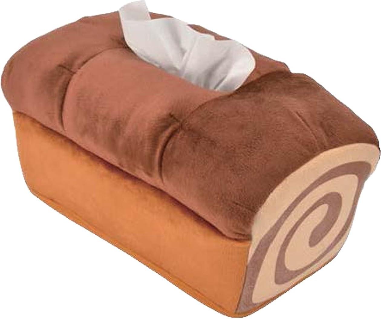説得力のあるマイナー朝ごはんパン ティッシュカバー マーブルパン ILF-9132
