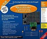 Lernpaket Mikrocontroller-Progammierung in Bascom und C - Platine mit ATmega8 und LED-Display (Elektronik Lernpakete)