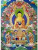 LFLFLF Rompecabezas clásico para niños y Adultos, 3000 Piezas, Rompecabezas de Buda, Rompecabezas de Budismo, Inteligencia educativa, descompresión, Divertido Juego de Juguete, Regalo