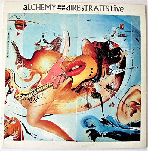 ALCHEMY DIRE STRAITS LIVE VINYL DOUBLE LP VERTIGO VERY11