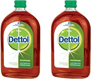 Dettol Antiseptic Liquid, 16.9 oz. (2 Bottles)