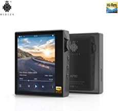 HIDIZS AP80 Hi-Fi Bluetooth MP3 Player, Portable High Resolution Digital Audio Player with LDAC/aptX/DSD, Lossless Music Player with Full Touch Screen (Gray)