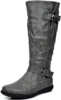Women's Fur-Lined Knee High Winter Boots Wide Calf