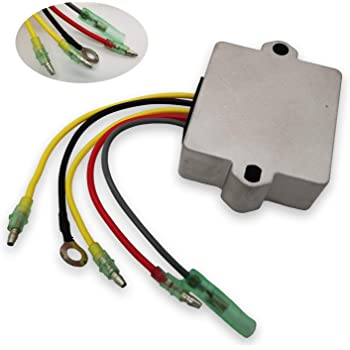 DB Electrical AMR6001 New Voltage Regulator Rectifier for Mercury Mariner Outboard 815279-3 815279-5 4-5743 230-22047 815279-3 815279-5 815279T 830179-2 830179T 854515 856748 883072 883072T 18-5743