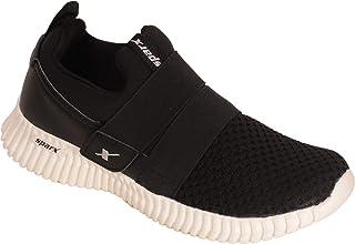 SPARX Men Black Soft Slip On Sports Shoes