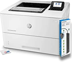$506 » HP Laserjet Enterprise M507dn Monochrome Printer (1PV87A) with Power Strip Surge Protector and Electronics Basket Microfiber Cleaning Cloth