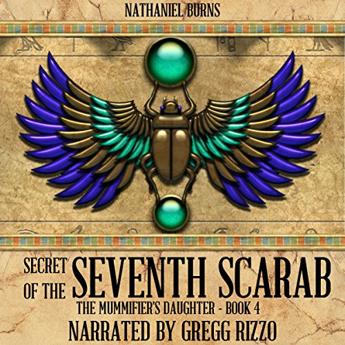 Secret of the 7th Scarab audiobook cover art