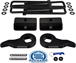 """Supreme Suspensions - Full Lift Kit for 1999-2007 Chevrolet Silverado and GMC Sierra 1500 4WD Adjustable 1"""" - 3"""" Front Lif..."""