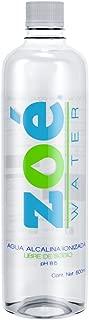 Zoé Water Agua Alcalina Ionizada, 500 ml