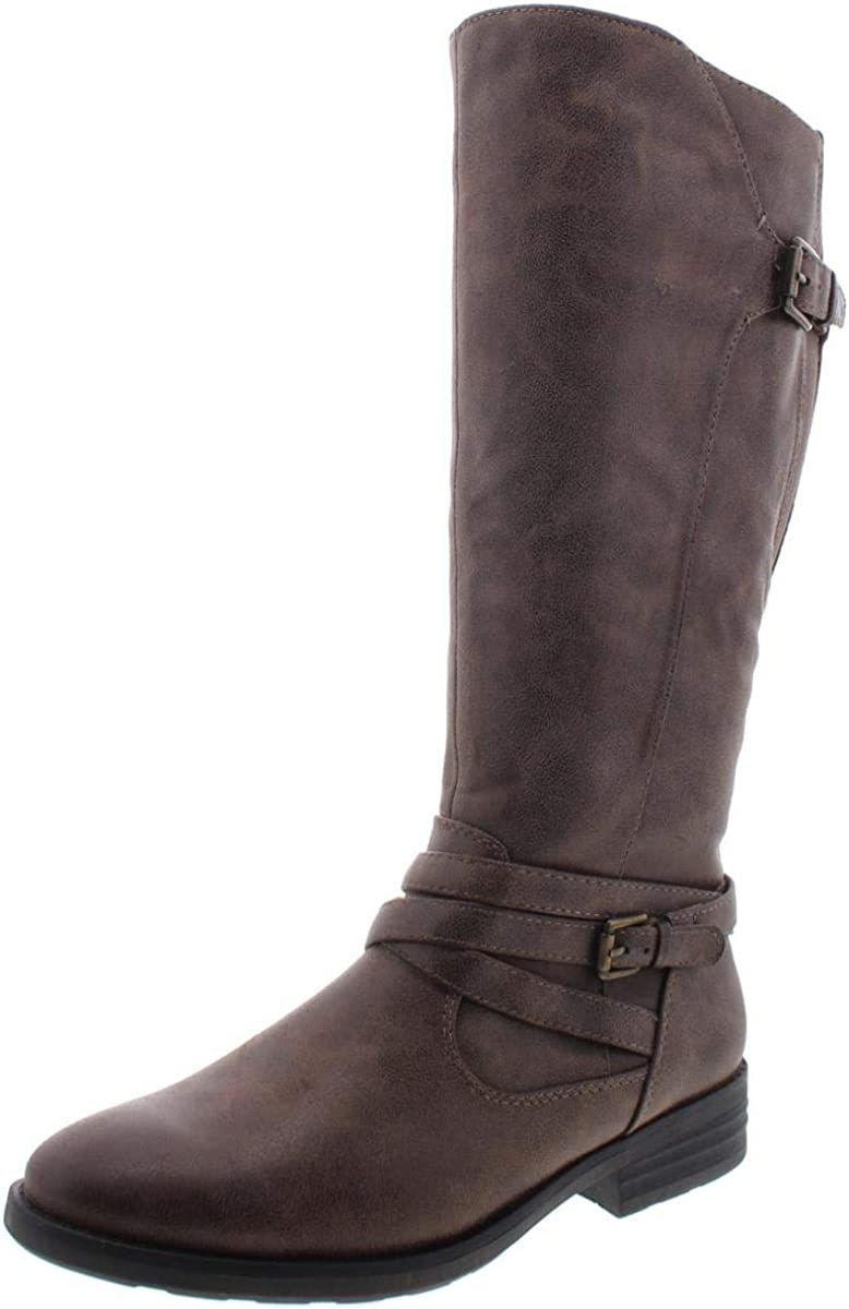BareTraps Latest item Womens Alysha Cheap bargain Faux Boots Riding Leather Tall