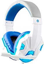 3.5mm Wired Gaming Headset Stereo Surround Headphone with Mic for PS3 PS4 Xbox UK Dmc Computer PC Laptop Yellow(Ship Immed...
