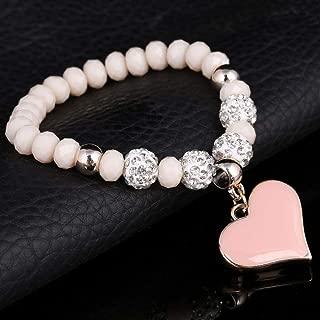 LLXXYY Bracelet Tress/é pour Les Femmes,Vintage Bracelet Corde Tress/ée Corde Bracelets Menottes Argent Tiss/és Charme R/églable pour Les Hommes Bangle Bijoux Femme Fille Cadeau De No/ël