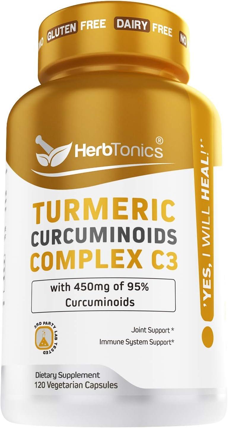 Tumeric Curcumin Supplement Easy-to-use with Pepper Black Genuine Bioperine 95%