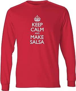 Men's Keep Calm and Make Salsa Long Sleeve T-Shirt