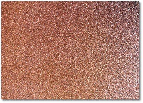 DCGC15 Dove craft - A4 Glitter Card, Chocolade (Pak van 20)