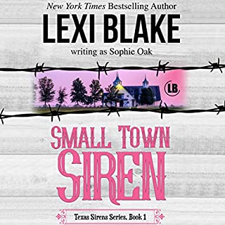 Small Town Siren audiobook cover art