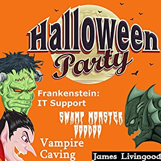 Halloween Party Book Set audiobook cover art