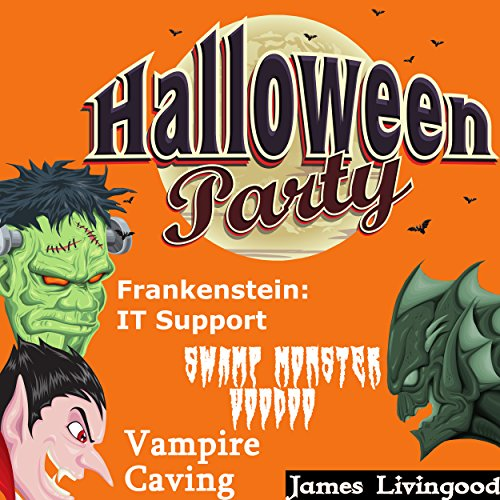 Halloween Party Book Set cover art