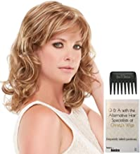 Bundle - 3 Items: Jessica Wig by Jon Renau, 15 Page Christy's Wigs Q & A Booklet, and Jon Renau Wide Tooth Comb COLOR: 6