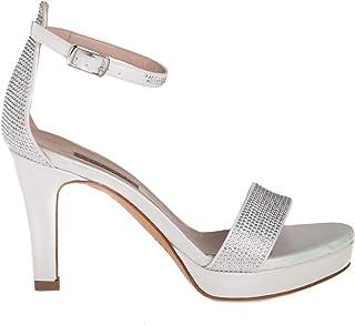 8ff13a00d ALBANO Scarpe Sandalo Donna 2177 Lux Bianco