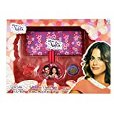 Violetta violetta set edt 30+ eyeshadows+lipgloss+bag 0.3 ml