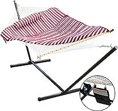 Best hammock with pillow in multi stripe Reviews