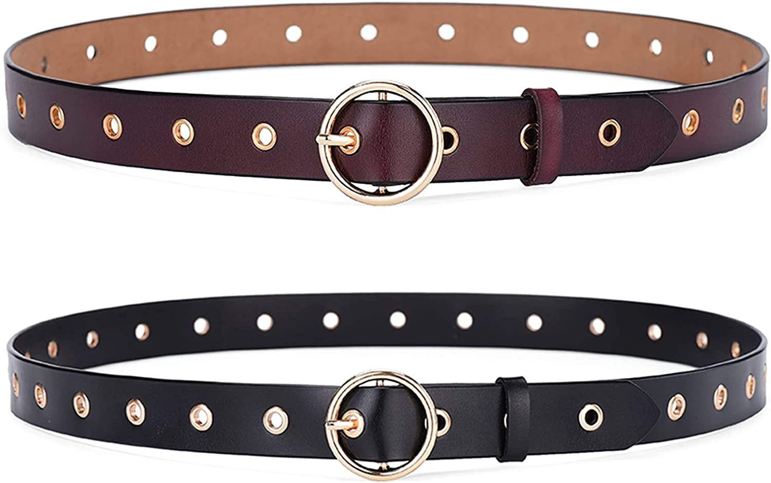 Avitalk Women's Faux Leather Belt Stylish Popular brand in the world Jeans for Durable Limited time cheap sale