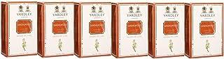 Yardley Sandalwood Luxury Soap, 100g (Pack of 6)