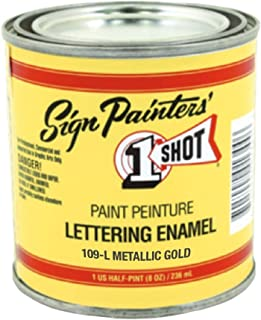 Best one shot paint gold Reviews