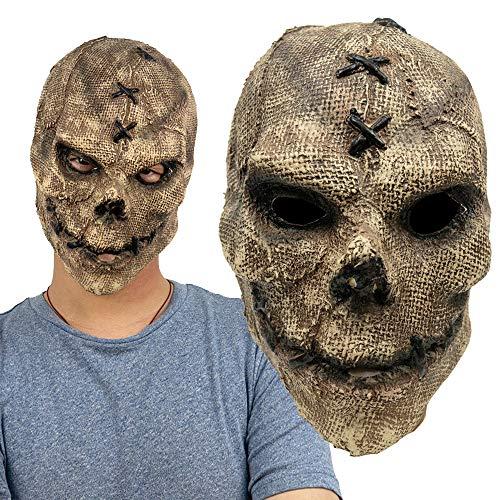 Zombie MaskeHorror Masken Ab 18HorrormaskeThe Fiend MaskeGruselmaskeSlipknot MaskenHorror MaskeLatexmaske Bequem Und Atmungsaktiv, Cosplay Halloween Kostüm Requisiten