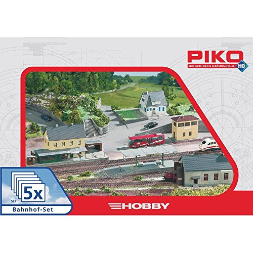 Piko H0 5teiliges Bahnhofset