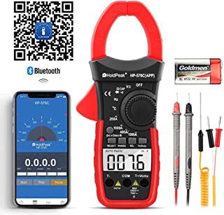 HoldPeak Pinza Amperimétrica HP-570C-APP, Multímetro de