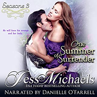 One Summer of Surrender audiobook cover art