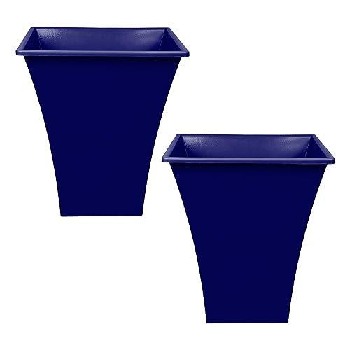 Blue Garden Pots Amazon Co Uk