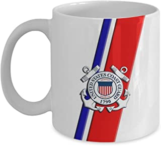 United States Coast Guard - USCG Gift For Coast Guard Birthday - Coffee Mug, Tea Cup, Funny, Quote, Gift Idea for Him or Her, Women, Father's Day, Bro