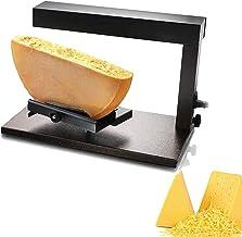 Qjkmgd Raclette électrique, Machine à barres de raclette pour une demi-fromage Contrôle du thermostat, réglable, facile à ...