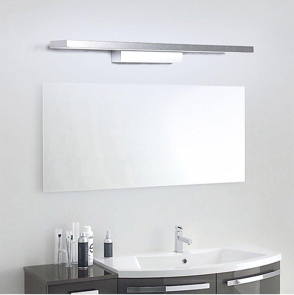 *badezimmerlampe Spiegelleuchte, LED-wasserdichte Nebel-Licht-Badezimmer-Badezimmer-Licht-Spiegel-Licht Waschbecken-Lampe Wasserdichtes Nebel-Licht (Farbe : Weißes Licht-18W/90CM) Weißes Licht-8w/40cm