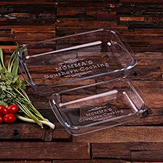 Personalized Casserole Baking Dish Set of 2