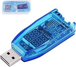 PEMENOL DC-DC USB Step Up Down Power Supply Module, Adjustable 5.0v to 1.2v-24v with Dual LED Digital Display, Button Control Volt Transformer