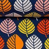 Swafing GmbH byGraziela Sweat Blätter dunkelblau/bunt -