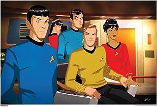 Pyramid America Star Trek Bridge Crew 50th Anniversary TV Show Cool Wall Decor Art Print Poster 19x13