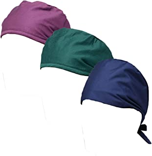 CSM 3 Womens and Mens Classic Scrub Cap, Hat One Size Multiple Colors Choices