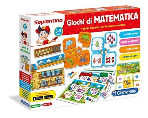Clementoni- Sapientino Giochi di Matematica Gioco Didattico Educativo, Multicolore, 13224