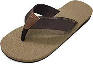 Men's Flip Flops Thong Sandals Casual Sandals Comfortable Slippers for Beach