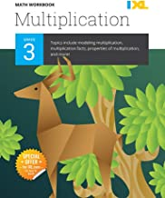 IXL | Grade 3 Multiplication Math Workbook | Fun Math Practice for Ages 8-9, 112 pgs