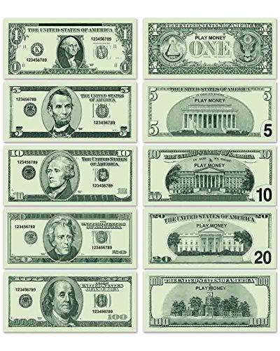 Beistle Spielgeld Dollarscheine 100er Pack