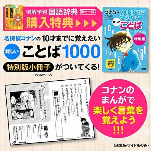 小学館『例解学習国語辞典第十一版ワイド版』